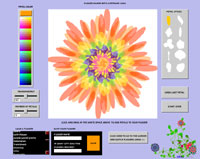 Create Your Own Flowers on zefrankcom